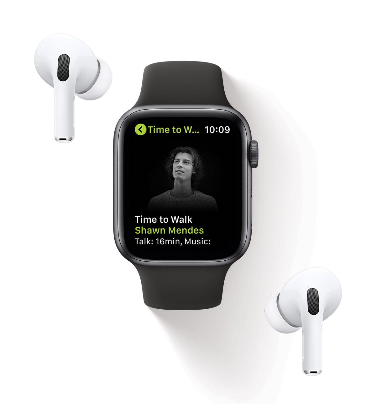 photo of Apple unveils Time to Walk for the Apple Watch, Fitness+ subscribers image