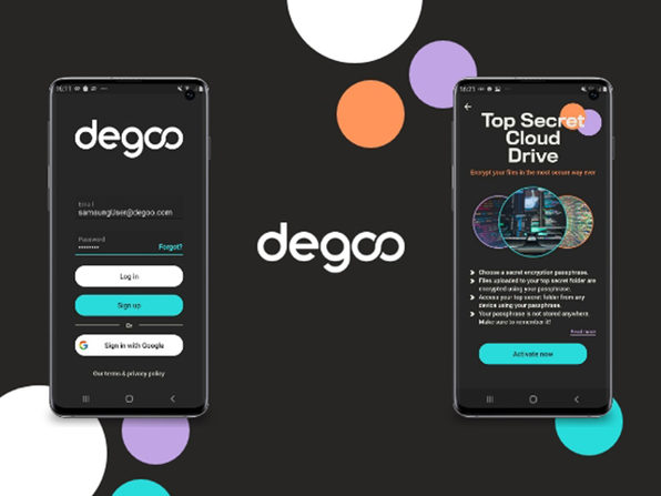 photo of Degoo Premium Mega Backup Plan image