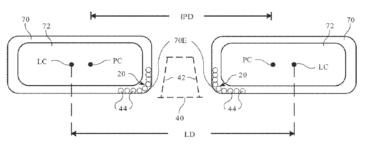 Apple granted patent for 'Apple Glasses' with lens position sensing
